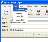 How to Add Bcc Recipients in Windows Mail or Outlook Express