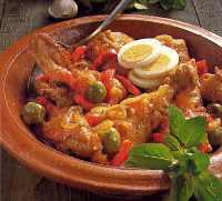 Picante de Pollo - Spicy chicken