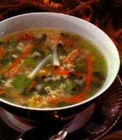 Primorska Jagnjec'a Corba -  Vegetable and lamb soup