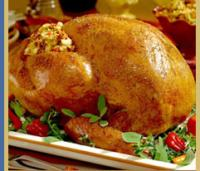 Roast Turkey with Old-Fashioned Bread Stuffing
