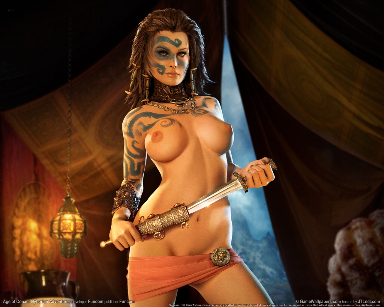 Age of conan porn naked videos