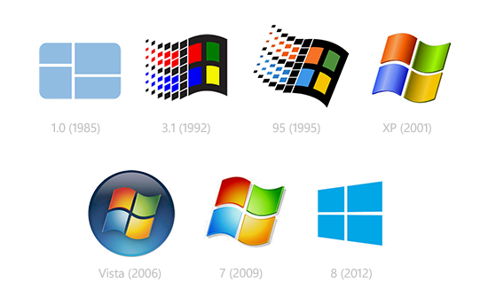 Yourforum gallery viewing image windows logos throughout history
