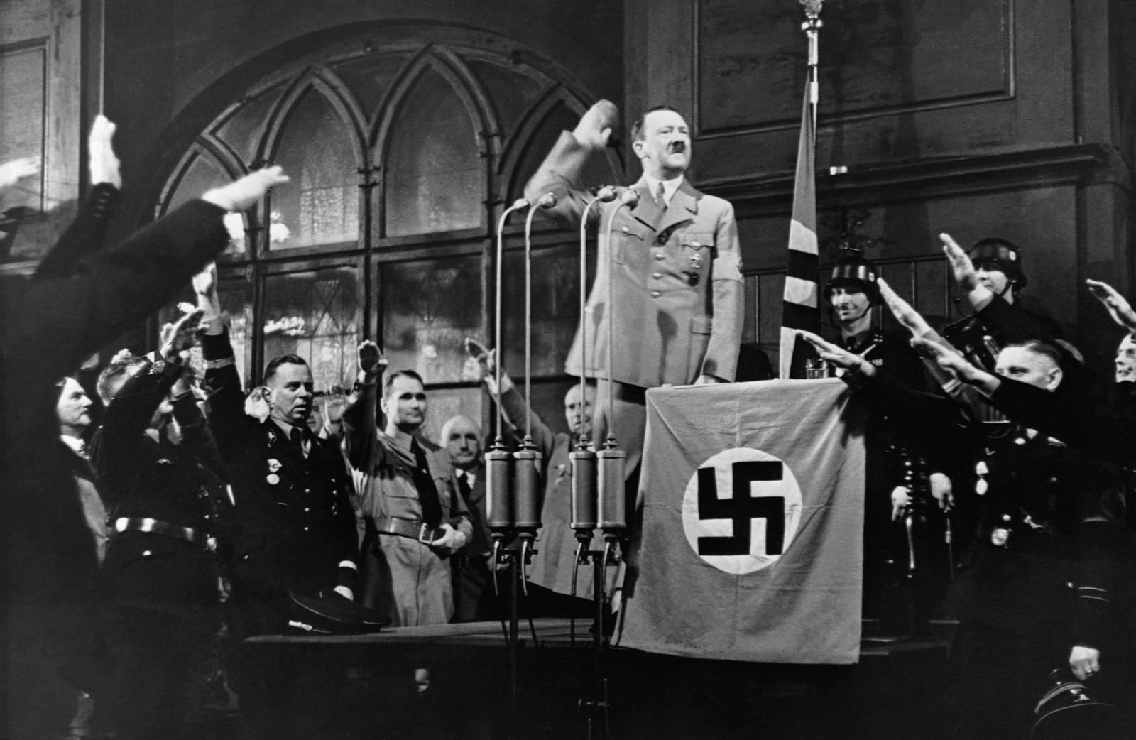 adolf hitler yielded the destructive force of nazism Adolf hitler unleashed a nightmare of terror in the most destructive force of the socialism national socialist nazi never nsdap occurred otto strasser.